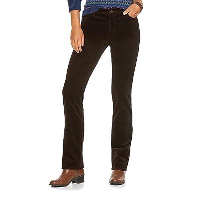 Chaps Petite Women's Fine Corduroy Pants
