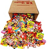 Assorted Classic Candy – Huge PARTY MIX Bulk BOX! net weight 100 oz/6.25 LB (Party Mix, 6.25lbs) Includes Skittles, Starbursts, Jolly Rancher, Dubble Bubble, Twizzlers, more!