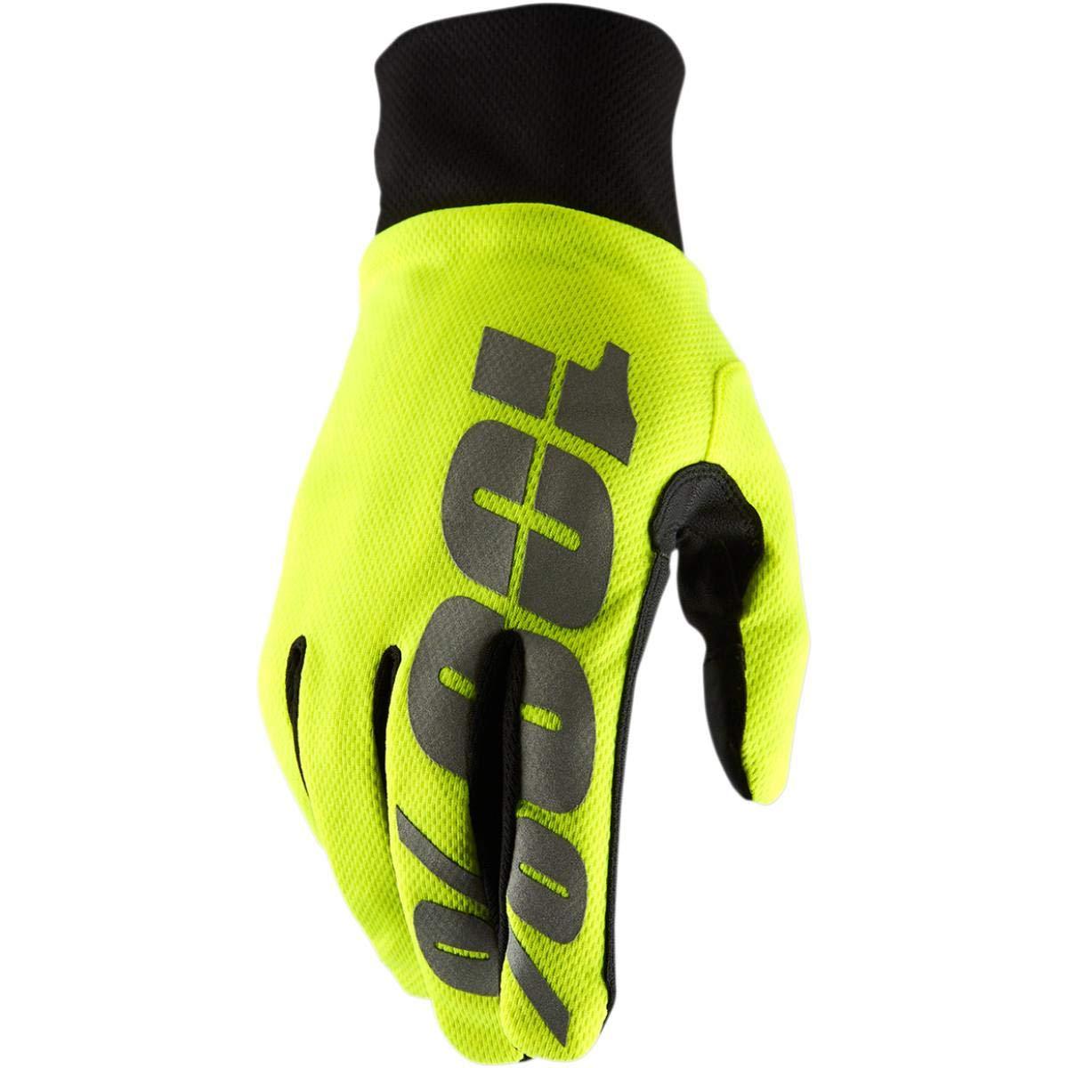 100/% HYDROMATIC Handschuhe Unisex XXL gelb fluoreszierend