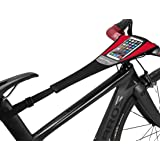 ROCKBROS Bike Trainer Sweat Guard Bike Frame Sweats Guard with Phone Pouch Bicycle Sweat Bolck Catcher Absorbs Sweat Mountain Bike Frame Protector Cover for Indoor Road Mountain Bike Training