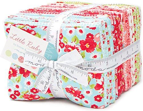 Bonnie & Camille Little Ruby 40 Fat Quarter Bundle Moda Fabrics 55130AB by Moda Fabrics