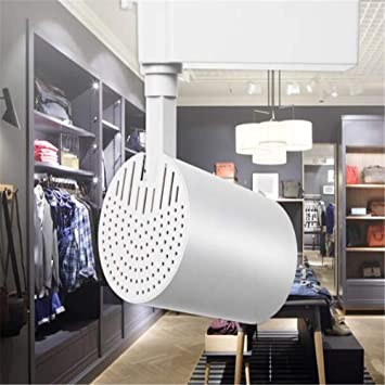 WXH Rastreo de Puntos Iluminación de Techo Moderno Accesorios de luz Cabezales no Regulables direccionales para escaleras Pasillo Oficina en casa Comercial,B,L: Amazon.es: Hogar