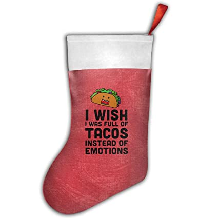 I Wish I Was Full de tacos en lugar de emociones Pretty Kids calcetines de medias