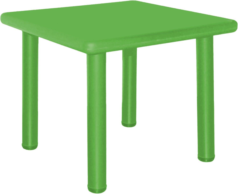 /Mesa infantil verde aprox Bieco 04000033/ 62/x 62/x 62/cm