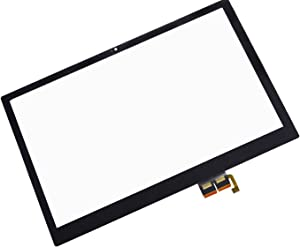 InOneWorld Touch Screen Replacement Panel Front Glass Digitizer for Acer Aspire V5-571P-6609 (NO BEZEL,NO LCD)