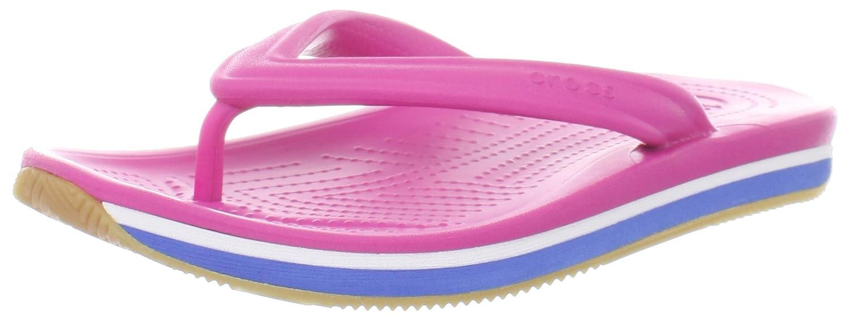 crocs Crocs Retro Flip Flop K, Unisex Kids' Flip-flop, Pink (Pink Fuchsia/Sea  Blue), 1-2 UK ( 33-34 EU): Amazon.co.uk: Shoes & Bags