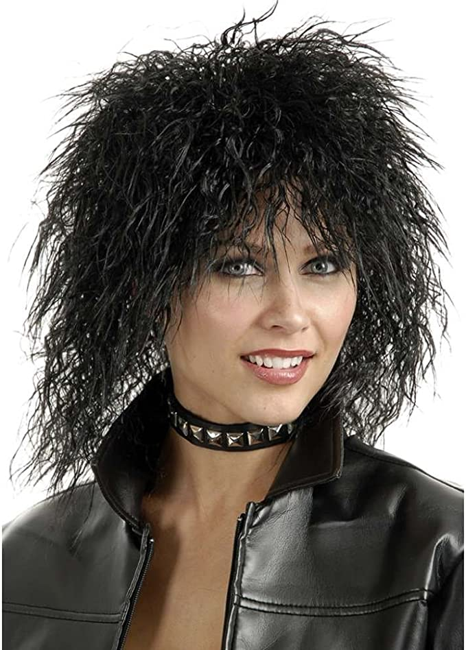 80s Costumes, Outfit Ideas- Girls and Guys Charades - 80S Rocker Wig $11.11 AT vintagedancer.com