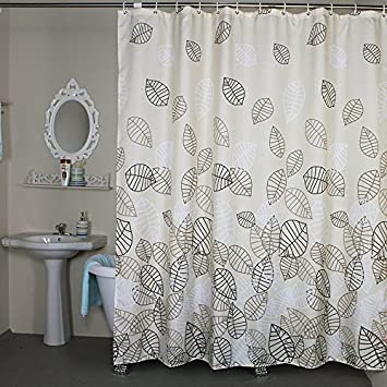 Amazon.com: Shower Curtain Extra Wide 108 x 78 inches Set with ...