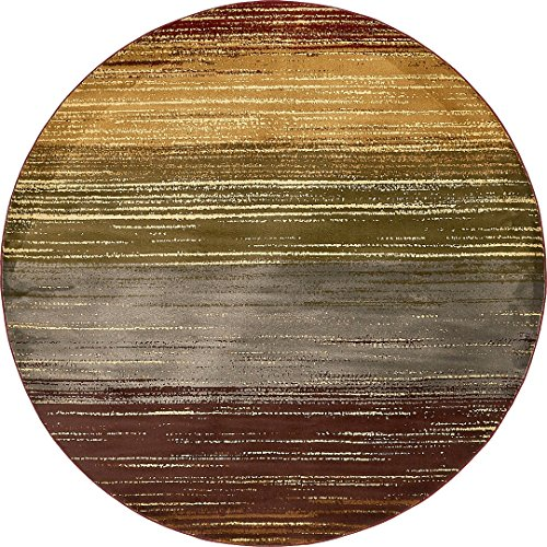 Modern Contemporary All Décor Floor Rugs Beige 8' x 8' Camden Area Rug Living Room Bedroom Carpet ()