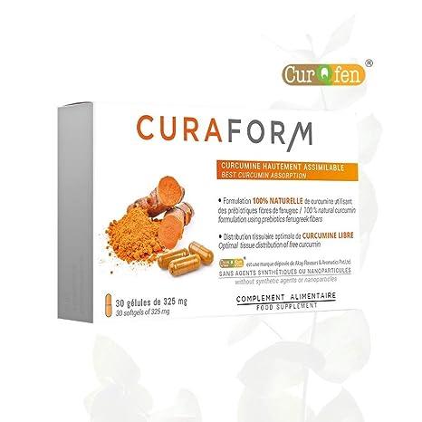 CÚRCUMA Patente curqfen | 100% natural, sin aditivos ...