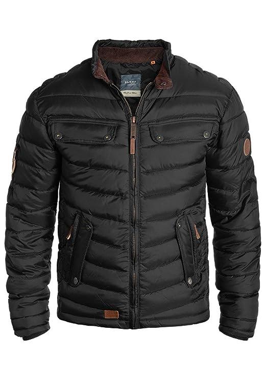 Blend Camaro Herren Steppjacke Übergangsjacke Jacke mit Stehkragen