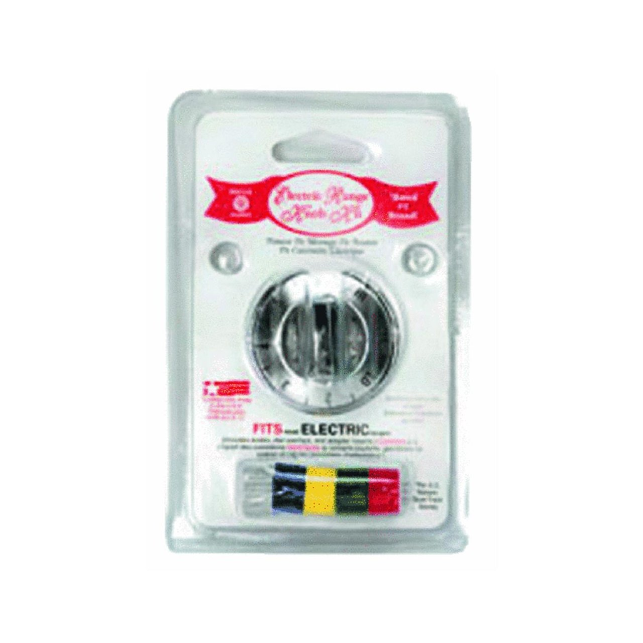 Range Kleen 8121 Electric Range and Oven Replacement Knob Kit, Chrome
