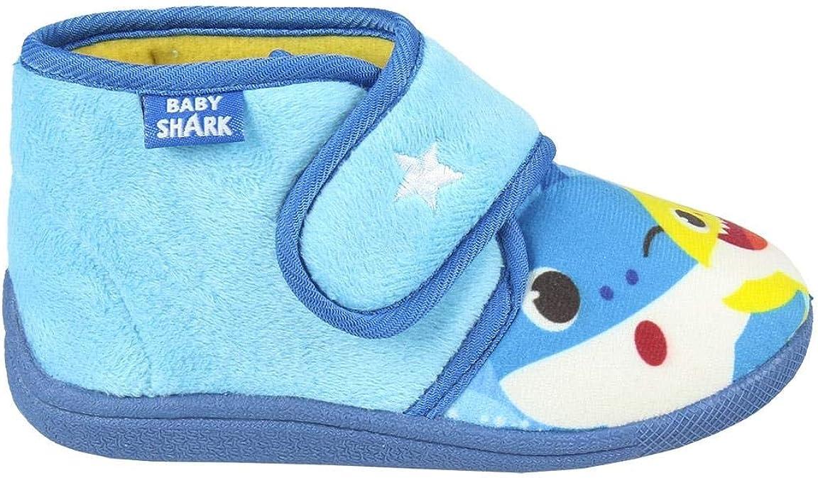 25 para Ni/ños CERD/Á LIFES LITTLE MOMENTS 2300004561/_T025-C56 Zapatillas de Casa Cerradas de Baby Shark-Licencia Oficial Nickelodeon Azul