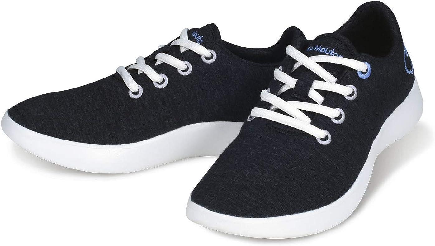Amazon.com | LeMouton Classic Men's Wool Shoe | Comfortable Lightweight |  Walking Lace Up Sneaker | Fashion Sneakers