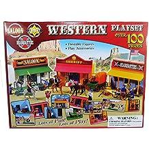 Western Cowboys Figure Playset (100 Pieces Retail Box)