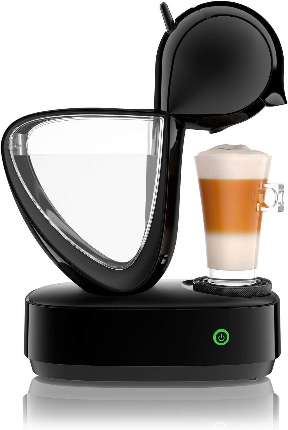 Krups infinissima cafetera café Nescafé Dolce Gusto, Negro: Amazon.es: Hogar