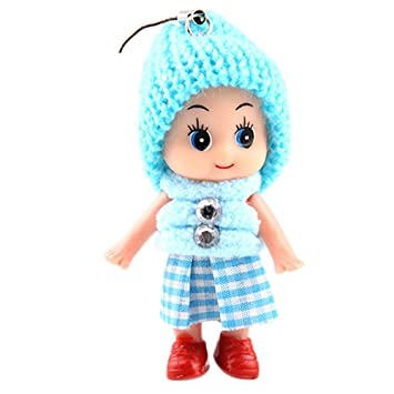 5Pcs Kids Toys Soft Interactive Baby Dolls Toy Mini Doll For Girls Cute Gift