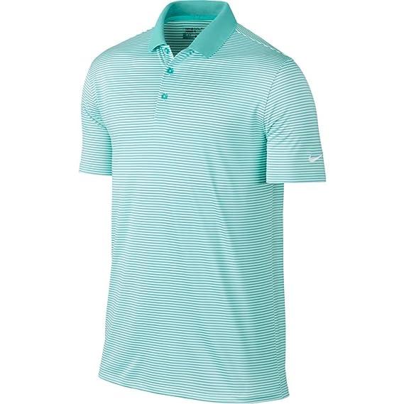 e64a3114 Amazon.com : NIKE Men's Dry Victory Stripe Polo : Clothing