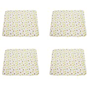 B-caton Portable Changing Pad Waterproof Diaper Change Mat for Babies to Toddler,Multi-Function [Home & Travel] (31.5x27in, 4 pcs)