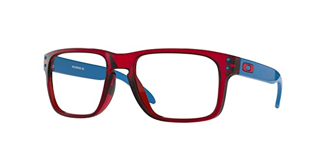 a0a3c54a8c24 Image Unavailable. Image not available for. Colour: Oakley HOLBROOK RX OX  8156 RED BLUE men Eyewear Frames