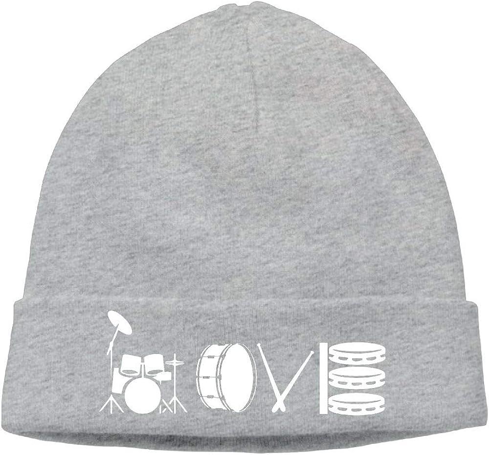 Love Drum Hedging Hat Unisex Autumn//Winter Cap