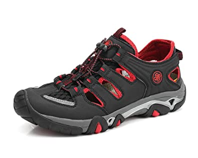 GTKC Männer Frauen Mesh Atmungsaktiv Waten Schuhe Wander Schuhe Wasser Schuhe Wasserdicht Schuhe Männer Farbe 2 42 sThYm