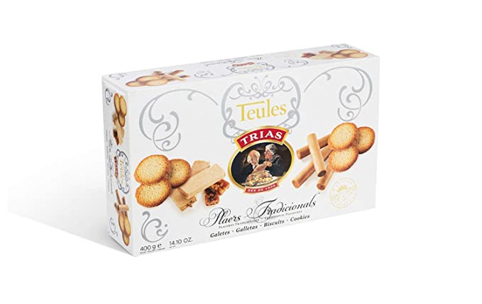 Trias Teules - Caja Galletas, 400 g