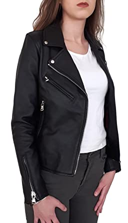1a0960af42b4 Veste Perfecto cuir pour femme  Amazon.fr  Vêtements et accessoires