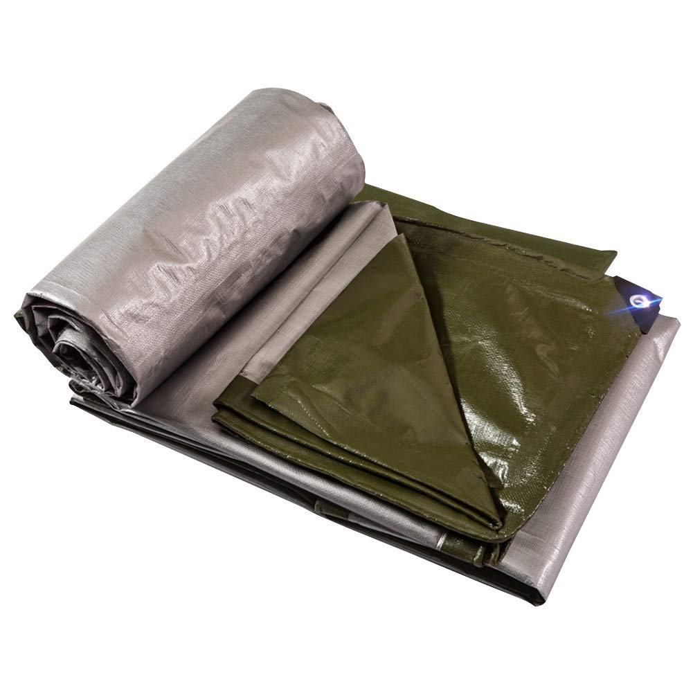 LIXIONG オーニング屋外の 厚くする 防水シート 日焼け止め 老化防止 ポンチョ、 21サイズ カスタマイズ可能 (色 : 4.8x5.8m)  4.8x5.8m B07Q2CXPS4
