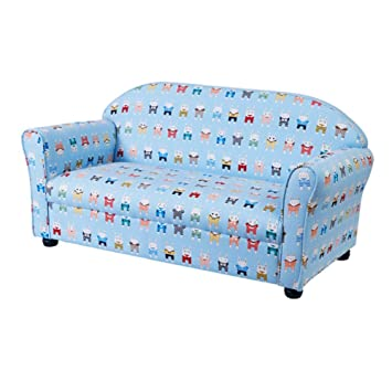 Amazon.com: Sofa Armchair Wooden Kids Sofas, Cartoon ...