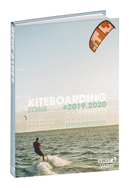 Agenda Escolar 1 Día/Página 2019-2020 One Way, 12x17cm, diseño Kite Surf