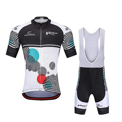 YGBH Traje de Ciclismo para Hombre Traje de Ciclismo Pantalón ...