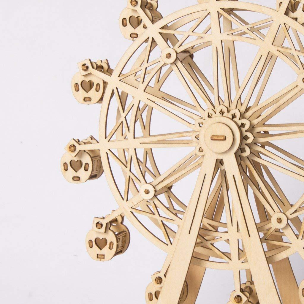 HWQ 3D Rompecabezas de Madera, Modelos mecánicos modulares para Kits ...