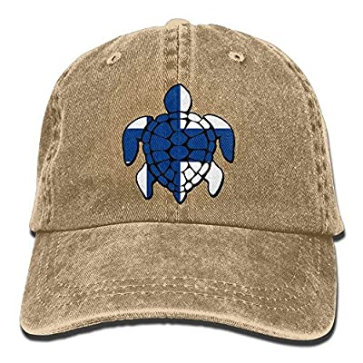 Wagroo Baseball Cap Finland Flag Turtle Women Snapback Caps Adjustable Baseball Cap