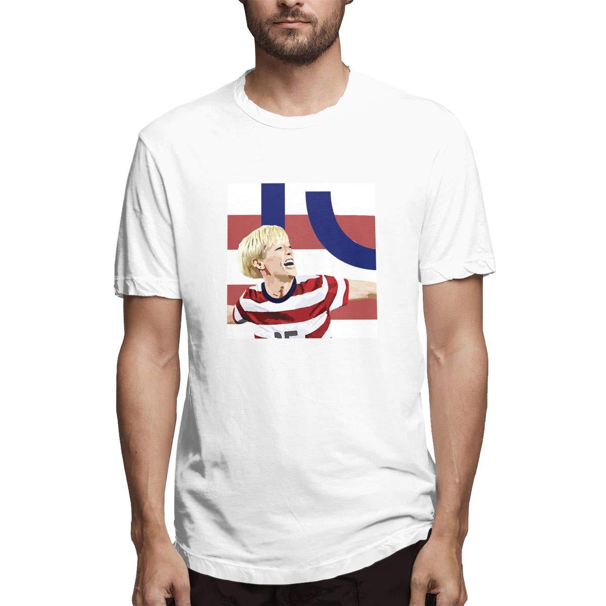 S Short Sleeve Meganrapinoe15poster Crew Neck Tshirt