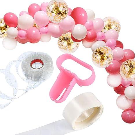 Amazon.com: YLIANG - Juego de 122 guirnaldas de globo ...
