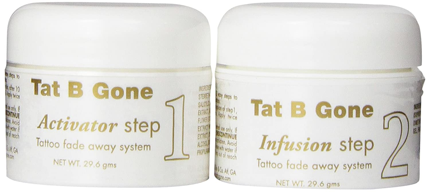 Amazon Com Tat B Gone Tattoo Removal System  Month Supply Tattooing Products Beauty