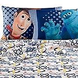 monsters inc bedding set twin - Disney Pixar Patchwork Sheet Set - Toy Story - Monster Inc (Twin, Multi)