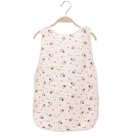 Saco de dormir para bebé Soft Cotton – Saco con 2 Vías Botón de presión