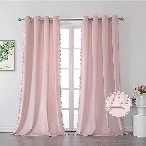 Selectex Pom Pom Velvet Curtains