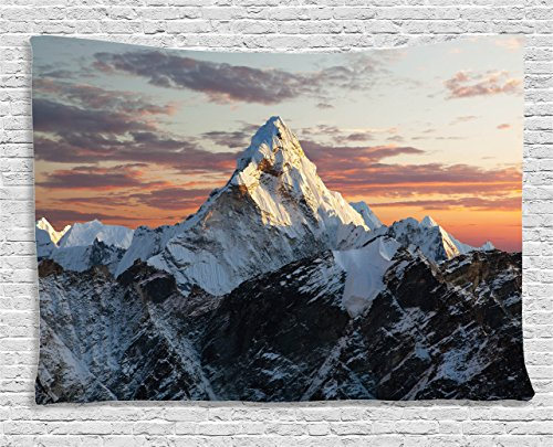 Apartment Tapestry Ambesonne Mountain Colorful product image