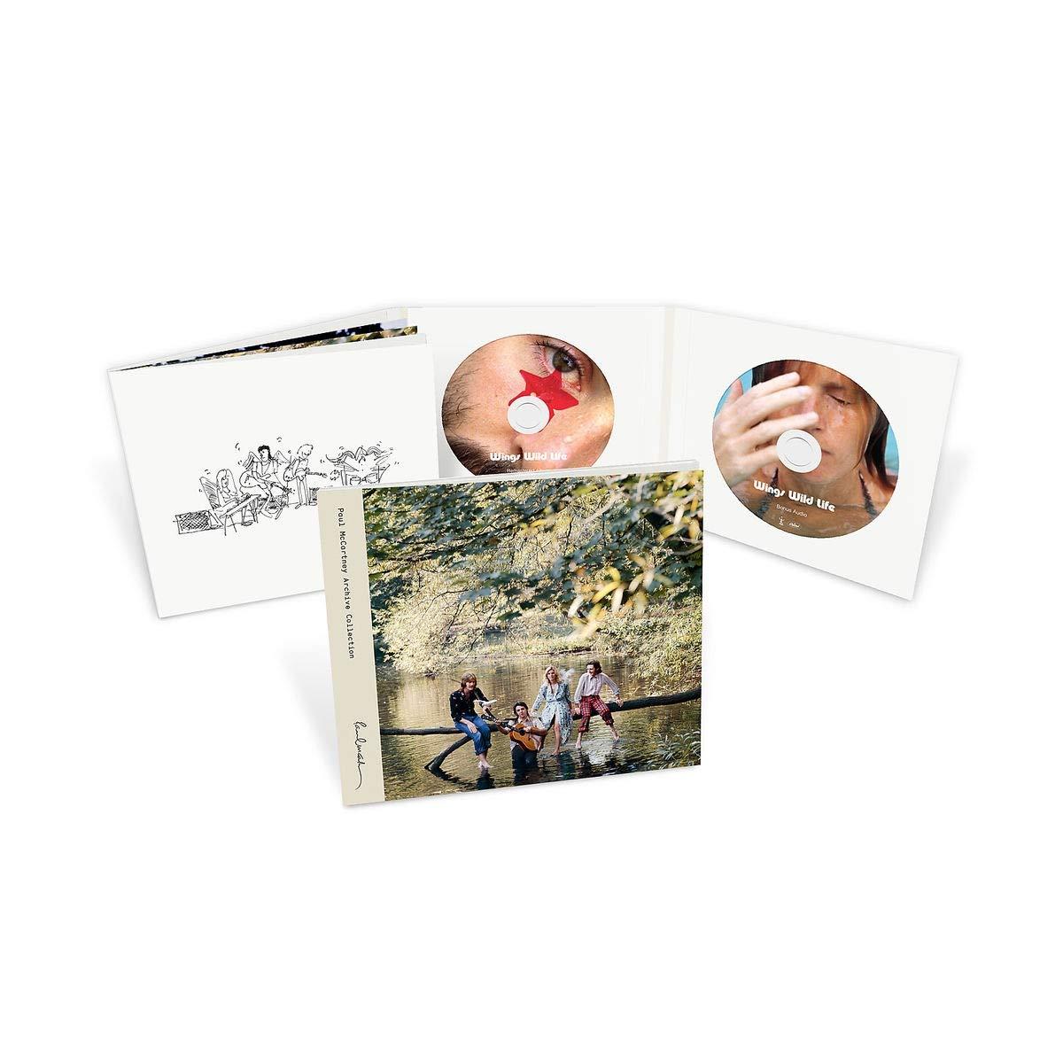 CD : Paul McCartney & Wings - Wild Life