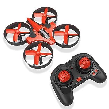 RCtown ELF Mini Drone 2.4GHz 4CH Mini UFO Quadcopter Drone con 6 ...