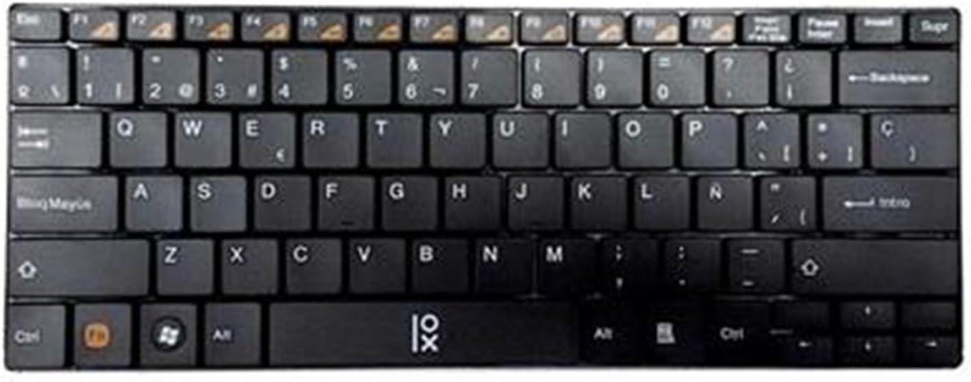 Primux T2B - Teclado Wireless, Color Negro: Amazon.es ...