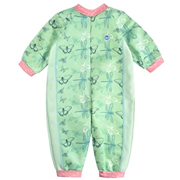 58901a532735f Amazon.com: Splash About Warm in One Baby Wetsuit (Small (0-3 Months ...