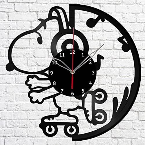 Amazon Com Snoopy Vinyl Record Wall Clock Get Unique