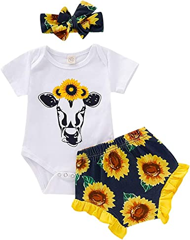 Baby Girl Short Sleeve Jumpsuit Sunshine Will BE Ready in A Minute Infant Romper Jumpsuit