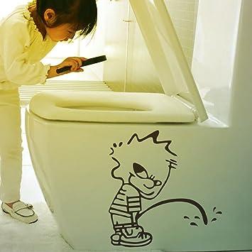 Vyage Tm Badezimmer Zeichen 3d Wand Aufkleber Nette Lustige Bad