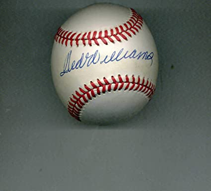 26c5a536178 Ted Williams Autographed Baseball - official AL Major League Auth.-BOLD - JSA  Certified