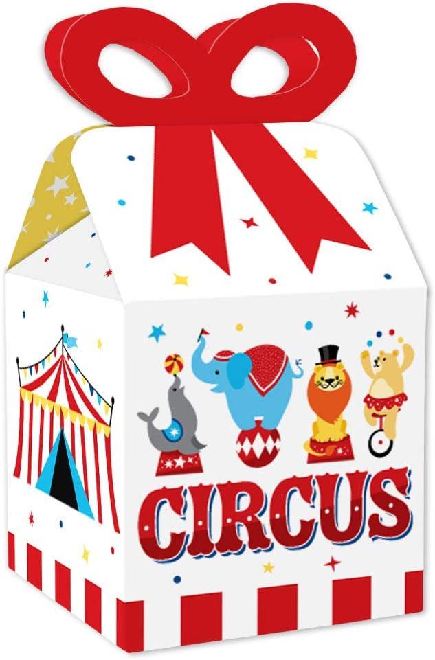 Circus Party Favor Boxes
